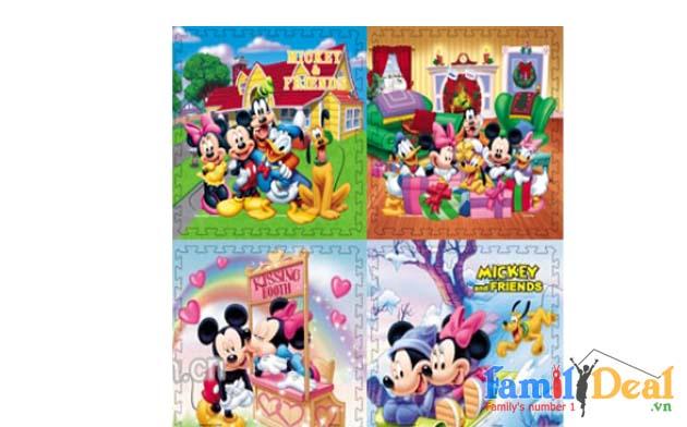 Thảm xốp lót sàn Disney