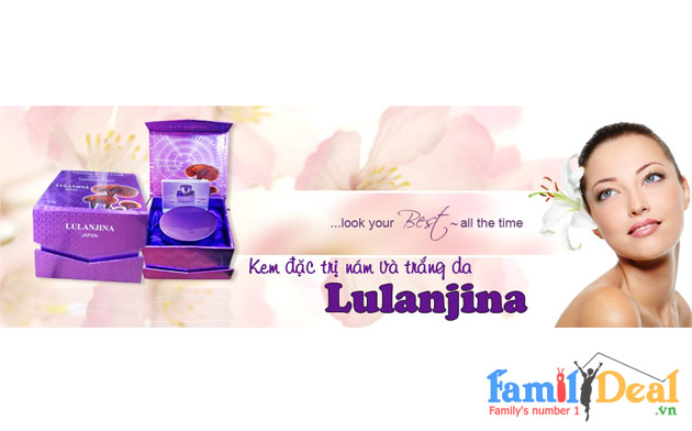 LULANJINA Whitening Hebetic Cream