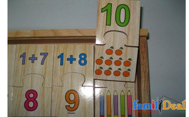 Bộ đồ chơi học số bằng gỗ