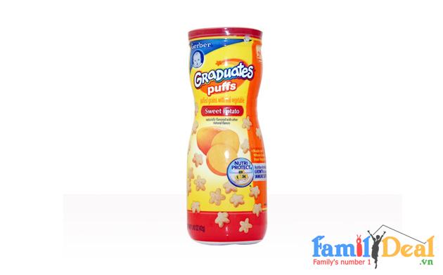 Bánh Ăn Dặm Puffs - Gerber (USA)