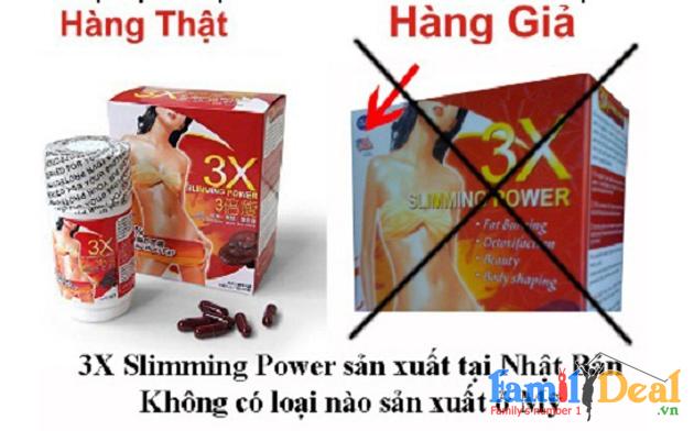 Hộp giảm cân 3X Slimming Power