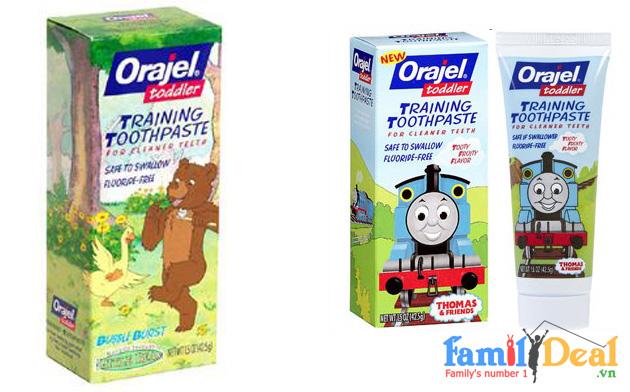 Kem Đánh Răng Nuốt Được Orajel - USA