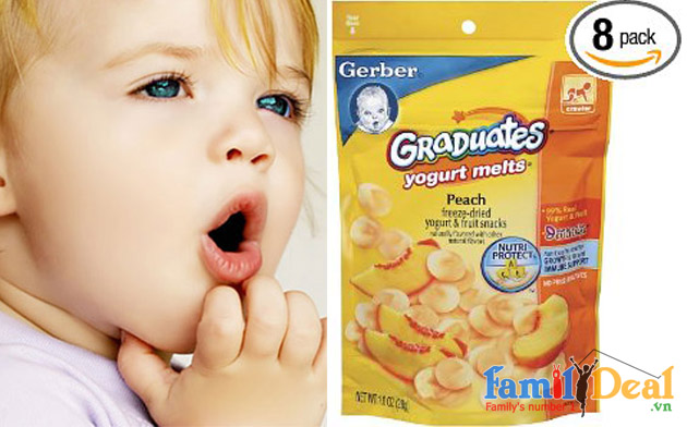 Bánh tan sữa chua Gerber