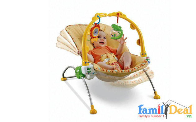 GHẾ RUNG FISHER PRICE 1760