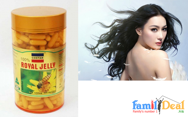 Sữa ong chúa Royal Jelly (1450mg)