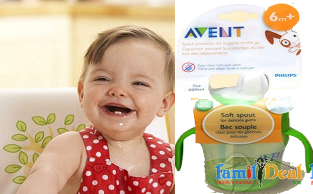 Ca Tập Uống  Avent 6M+ UK