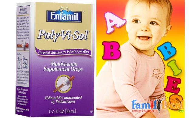 Thuốc bổ Enfamil Poly Vi Sol - USA