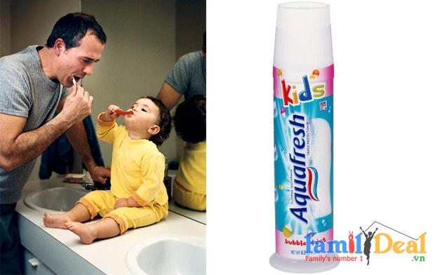Kem đánh răng Aquafresh Kids 2+ NHOMMUA HOTDEAL