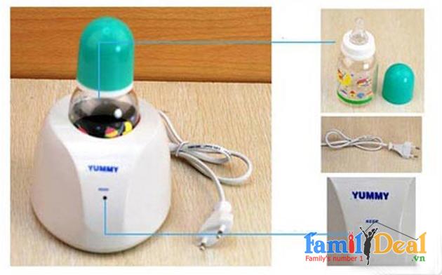 Máy Hâm Sữa + Bình Sữa NHOMMUA HOTDEAL