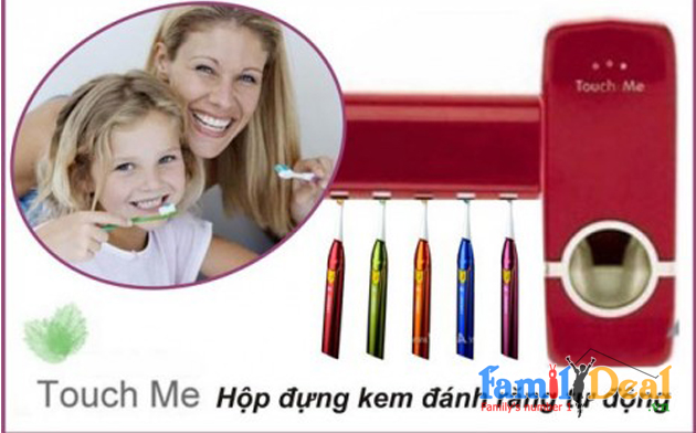 Máy Lấy Kem Đánh Răng Tự Động NHOMMUA HOTDEAL
