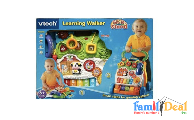Xe Tập Đi VTech Sit-to-Stand Learning Walker