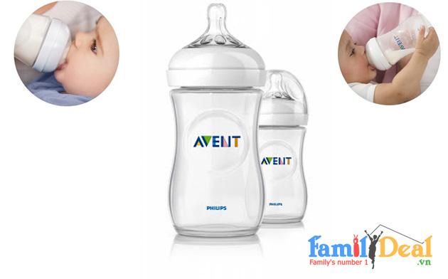Bình Sữa Thủy Tinh Avent - 8oz