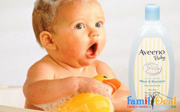 Sữa tắm và gội 2 in 1 Aveeno 532ml NHOMMUA HOTDEAL