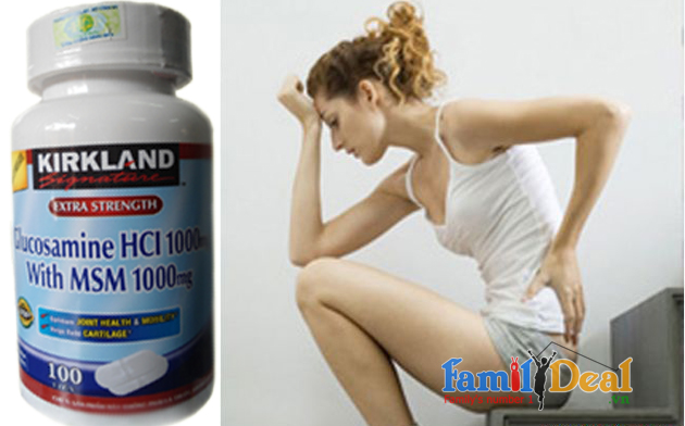 Thuốc bổ khớp Kirkland Signature Glucosamin HCL 1000mg