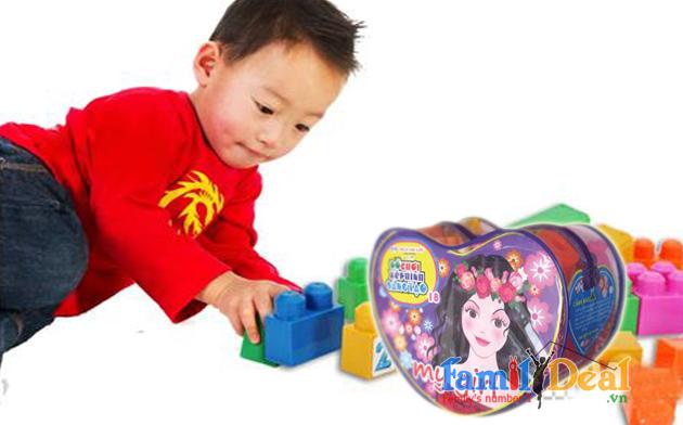 Bộ đồ chơi xếp hình sáng tạo