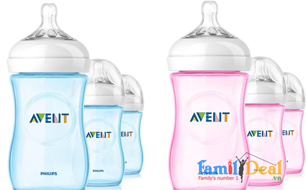 SET 03 BÌNH SỮA PHILIPS AVENT NATURAL