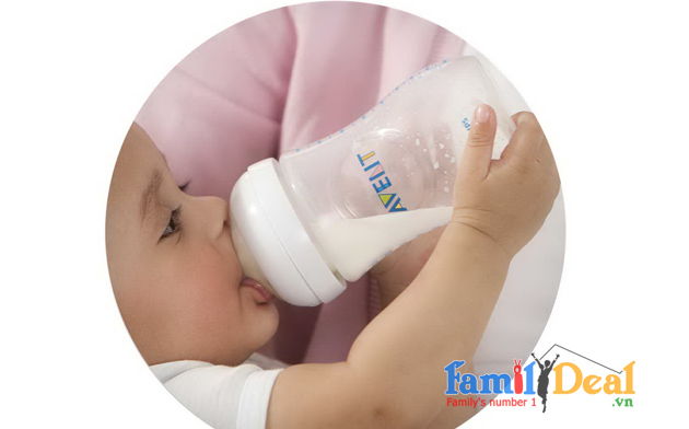 B nh s a avent c r ng 260ml for Family deal com