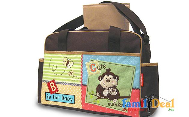 Túi đựng đồ cho mẹ và bé Fisher Price