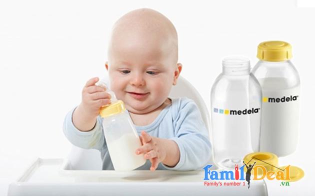 Set 3 bình sữa Medela 150ml ( Thụy Sĩ)