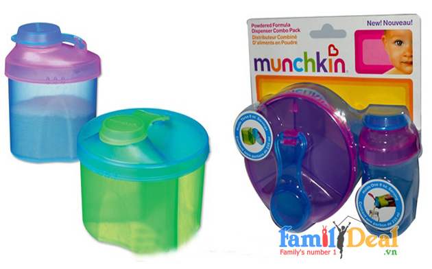 Hộp chia sữa bột Munchkin