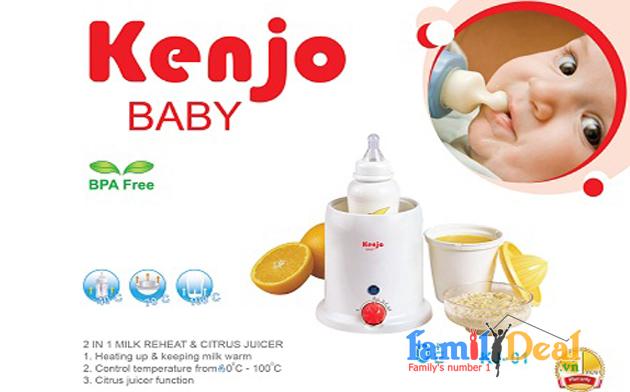 Máy hâm sữa, tiệt trùng  Kenjo Baby 01
