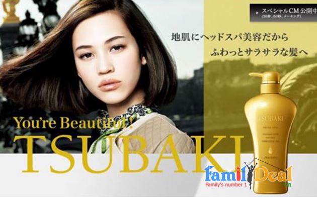 Trọn bộ gội, xả Tsubaki Shiseido