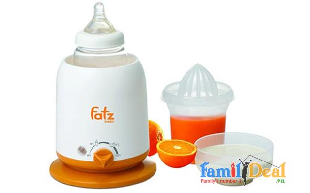 Máy hâm sữa siêu tốc 3 chức năng FATZBABY
