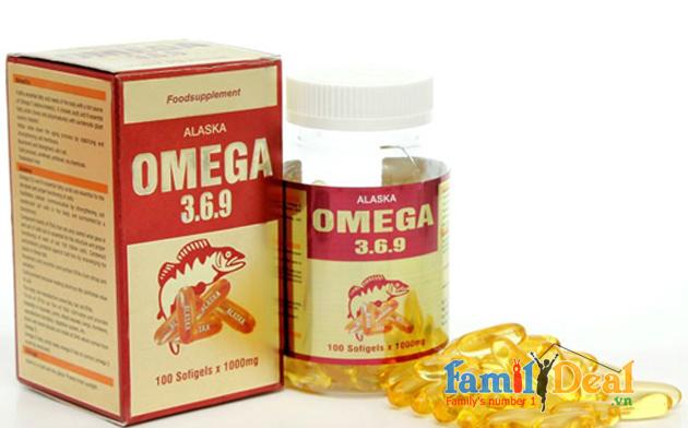 Dầu cá Omega 3.6.9 Alsaka