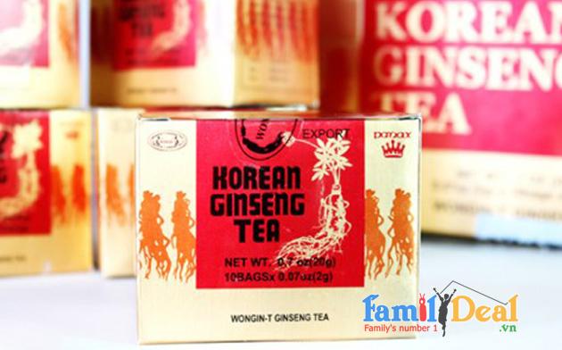 Trà Sâm Korean Ginseng Tea