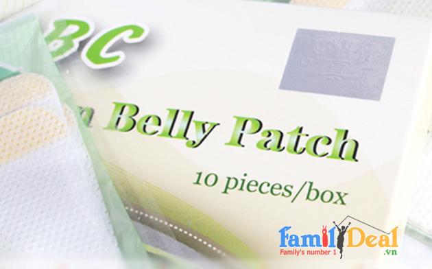 Miếng Dán Giảm Cân ABC Slim Belly Patch