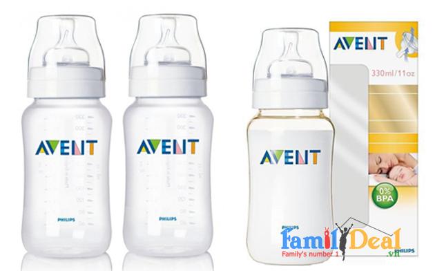 Bình Sữa Avent 330ml NHOMMUA HOTDEAL
