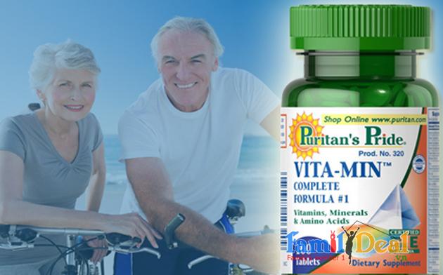 Puritan's pride vitamin complete formula
