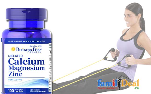Puritan's pride Calcium Magnesium Zinc