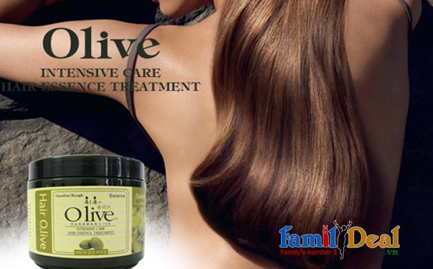 Dầu Hấp Ủ Tóc Olive