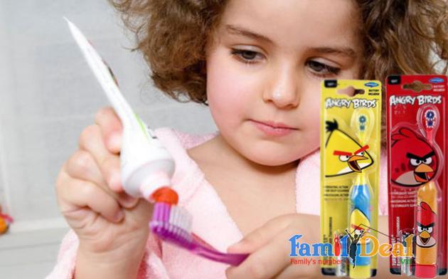 Bàn chải đánh răng chạy bằng pin NHOMMUA HOTDEAL