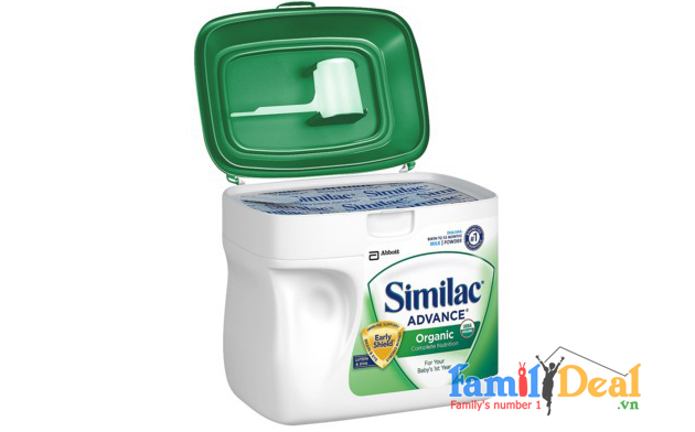 Sữa Similac Advance Organic 964g