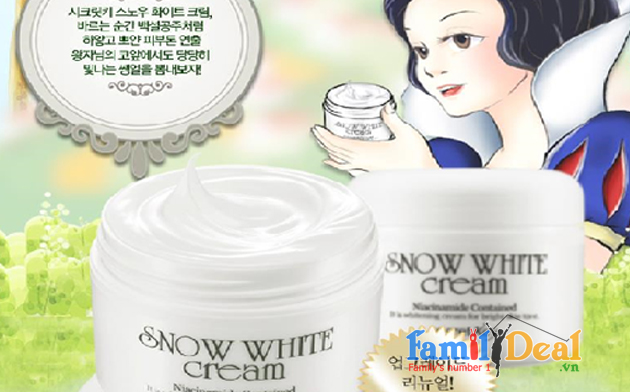 Kem dưỡng trắng da Snow White cream'