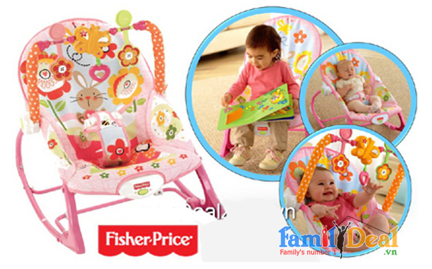 Ghế rung Fisher Price Y4544