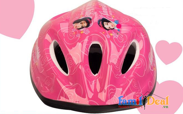 Mũ bảo hiểm Disney Princess