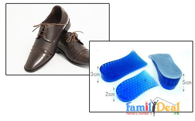 Miếng Lót Giày Tăng Chiều Cao 6 cm UP