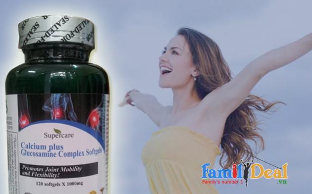 Viên uống bổ sung Canxi kết hợp Glucosamine