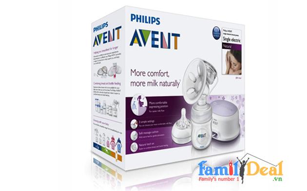 Máy hút sữa điện Phillip Avent SCF332/01