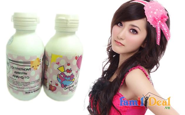 Sữa tắm tinh chất sữa non CHOCOLATE