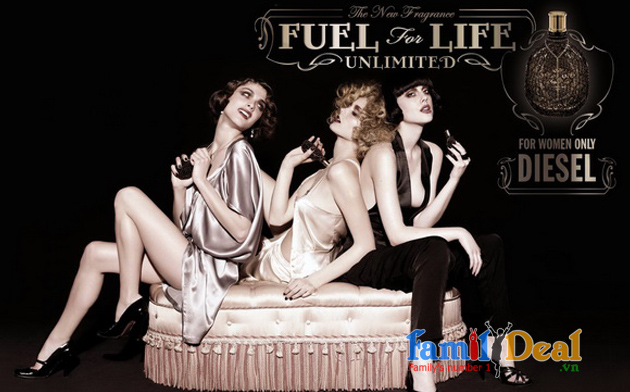 Nước hoa nữ Diesel Fuel for Life Unlimited 75ml