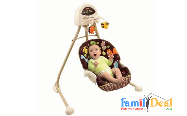 Ghế xích đu Fisher-Price Cradle n Swing