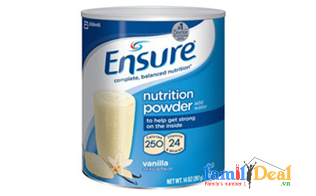 S a ensure nutrition powder 397gr lon thi c for Family deal com