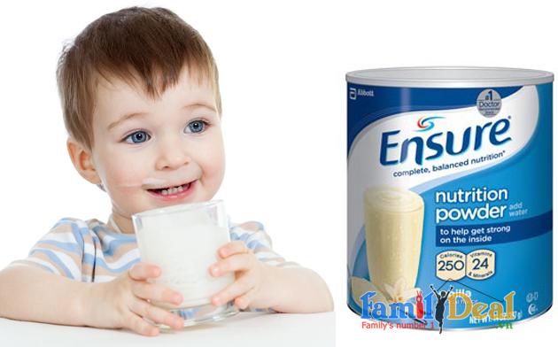 Sữa Ensure Nutrition Powder 397gr lon thiếc