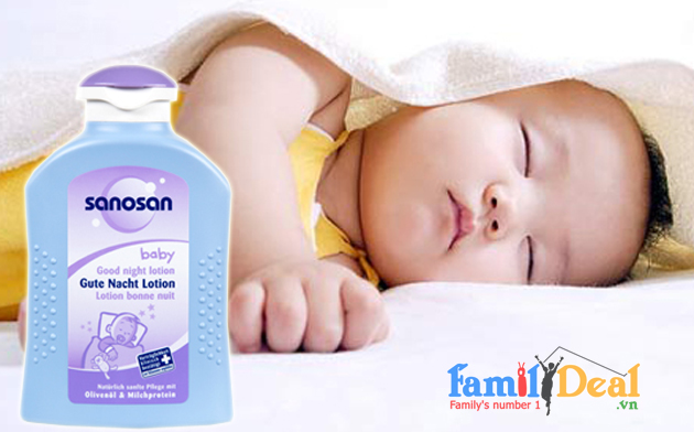 Tinh dầu dưỡng gíup bé ngủ ngon 200ml