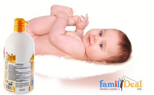 Sữa dưỡng thể Baby Aromakids 1000ml