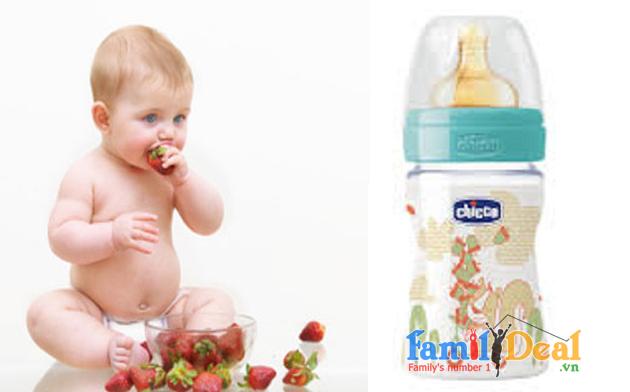 Bình sữa Wellbeing Sóc xanh 150ml